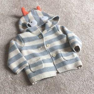 5/$30 Gap Monster Sweater 3-6